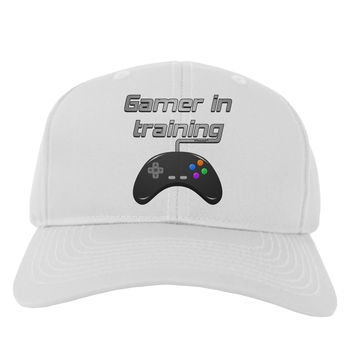 Gamer In Training Color Adult Baseball Cap Hat