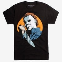 Creepy Co. Halloween Michael Meyers Pop Art T-Shirt