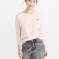 Womens Cashmere Icon Crew Sweater | Womens Tops | Abercrombie.com