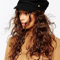 ASOS Wool Mix Baker Boy Cap at asos.com