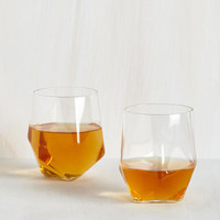 Face the Facets Glass Set by ModCloth