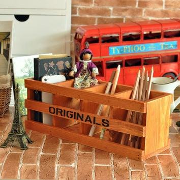 Wooden Weathered Pen Gifts Home Decor [6282305606]