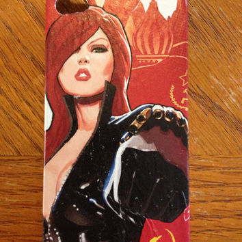 Black Widow iPhone 4s cell phone case