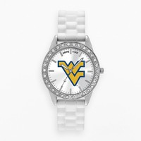 Game Time Watch - Women's Frost Series West Virginia Mountaineers (White)