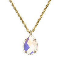 Kiri Necklace in Clear Iridescent - Kendra Scott Jewelry