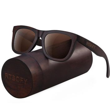 Wood Sunglasses for Men & Women Duwood Frame Eyeglasse Polarized Lenses Glasses
