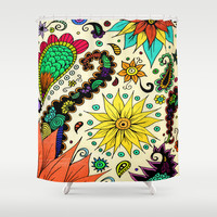 Botanic Shower Curtain by DuckyB (Brandi)