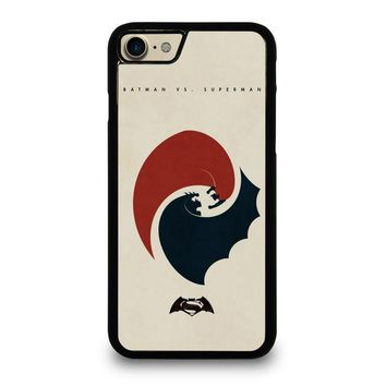 superman vs batman yin yang case for iphone ipod samsung galaxy  number 1