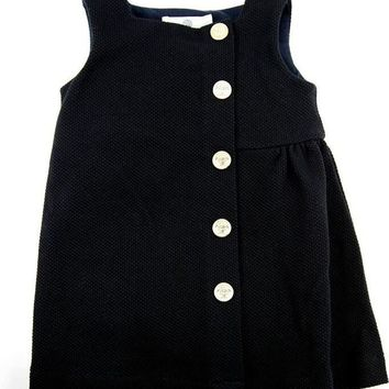Versace Baby Girls Navy Dress