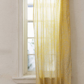 Lucy Boho Print Window Curtain | Urban Outfitters