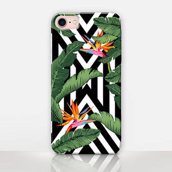 Banana Leaves Phone Case- iPhone 7 Case - iPhone 7 Plus Case - iPhone SE Case - iPhone 6S case - iPhone 6 case - iPhone 5 Case  Samsung S7