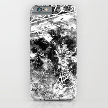 King Dusty - BW ED iPhone & iPod Case by HappyMelvin Protanopia