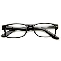 New Optical Quality Frame Clear Lens Glasses 8715
