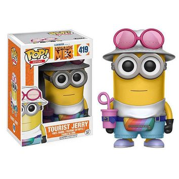 FUNKO POP MINIONS DESPICABLE ME 3 UNICORN FLUFFY VINYL FIGURES TOYS GIFTS