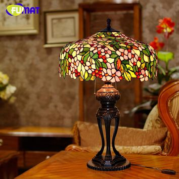 Apple Flower Lampshade For Living Room Table Lights