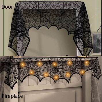 Halloween Party Decor Cobweb Spoof Horrible Spider Web Home Outdoor Party Decor Scary Decor for Haunted House LM76