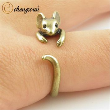 Adjustable Mouse Wrap Around Ring
