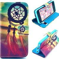 iPhone 4,iPhone 4 Case,iphone 4 Wallet ,iphone 4 Wallet Case,iphone 4 Leather Case, Kaseberry 4S-001 Credit Card Holder Mirror PU Flip Cute Case Cover