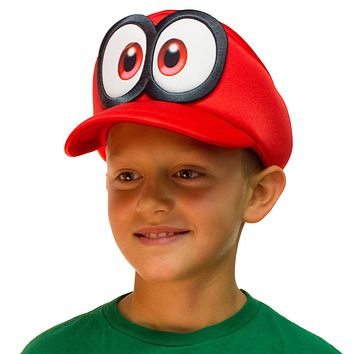 Super Mario Odyssey Cappy Hat Kids Cosplay Accessory