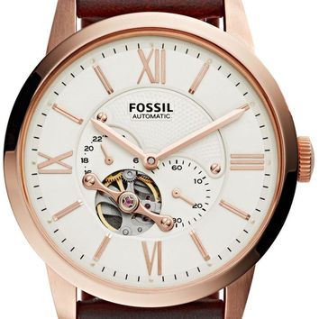 Fossil Townsman Automatic Skeleton ME3105 Men's Watch