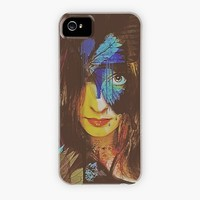 """Chrysalis Abstract Portrait"" - Phone Case by Galen Valle"