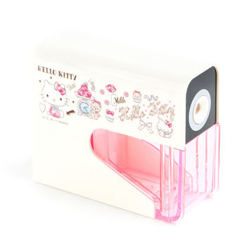 Hello Kitty Slim Electric Pencil Sharpener: School Days
