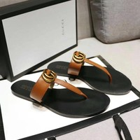 GUCCI Women 2019 Fashion Sandal Slipper Shoes