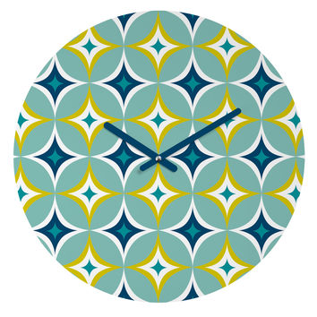 Heather Dutton Astral Slingshot Round Clock