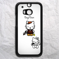 Hello Kitty Daryl Dixon HTC One M8 Case