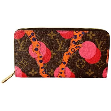 Louis Vuitton Zippy Wallet in Monogram Ramages 2015 Limited Edition New In Box