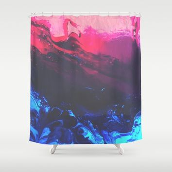 Empath Shower Curtain by DuckyB
