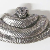 Pewter - Python - Lapel Pin/Brooch - A078,AC078,AP078
