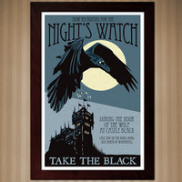 Night Watch Recruitment Poster - Game of Thrones