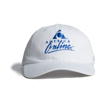 AOL Logo Embroidered Cap