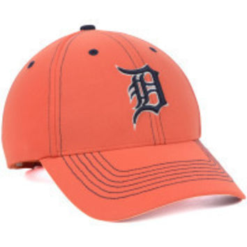 MLB 47 Brand Detroit Tigers 2015 Mens Game Time Closer hat-Orange