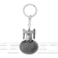 Star Wars Star Trek Enterprise Replica Keychain
