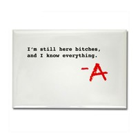 Pretty Little Liars TV Show Rectangle Magnet on CafePress.com