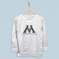 Long Sleeve T-shirt - Harry Potter Decal Ministry of Magic