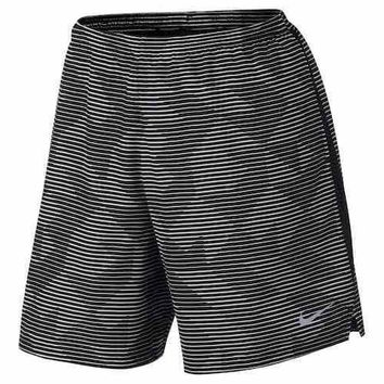 Men's Nike Dry Challenger DRI-FIT Running Shorts - Size XL - Black or Blue - NWT