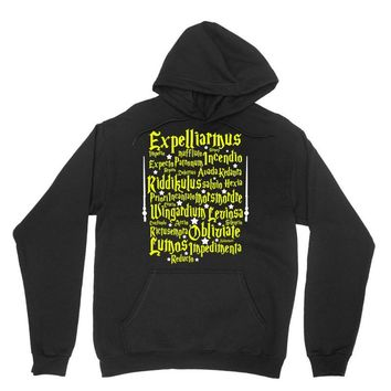 Expelliarmus Harry Potter Spell Unisex Hoodie
