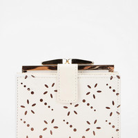 Urban Outfitters - Kimchi Blue Laser-Cut Kiss-Lock Wallet