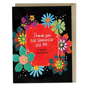 Thank You for Showing Up Empathy Card | Emily McDowell Studio