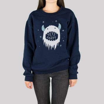 Yeti To Party Sweatshirt
