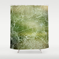 Polar Forest Shower Curtain by Catherine Holcombe