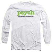 PSYCH/TITLE - L/S ADULT 18/1 - WHITE -