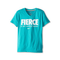 Nike Kids Fierce Is My Middle Name Tee (Little Kids/Big Kids)