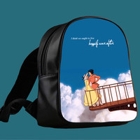 Howl s Moving Castle Quotes for Backpack / Custom Bag / School Bag / Children Bag / Custom School Bag ***
