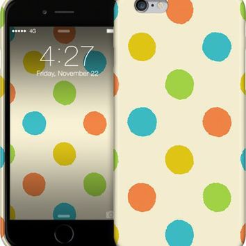 Colorful polka dot pattern iPhone Cases & Skins by Natalia Bykova | Nuvango