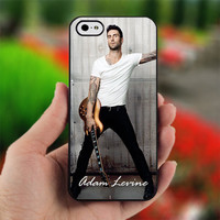 Adam Levine - Maroon five - PC012 - Print on Hard Cover - For iPhone 4, iPhone 4S, and iPhone 5 Case - Black, White, and Clear