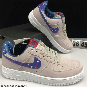 Nike Air Force 1'07 Air Force One Low Archer Astronauts Moonlight Sneakers F-CSXY